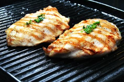 grelha de frango